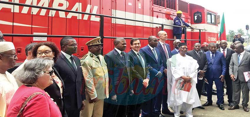 Image : Camrail: cinq nouvelles locomotives en service