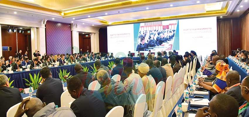 A cross section of participants at a seminar on poverty eradication initiatives in Jiangxi Province.
