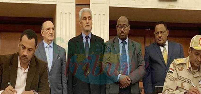Soudan : accord pour régime civil