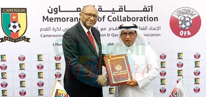 Coopération : la Fecafoot liée à la fédération du Qatar