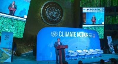 Climate Action Summit  : UNSG Presents Startling Revelations, Calls For Increased Climate Financing