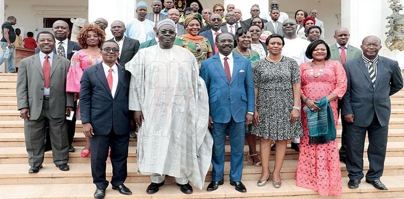 Image : Les membres du jury en poste