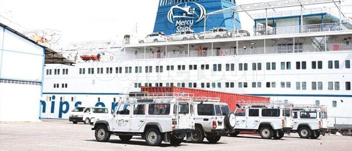Image : Mission humanitaire Mercy Ships: de l'espoir à revendre