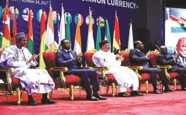 Image : ECOWAS Common Currency: Presidential Taskforce Lays Groundwork