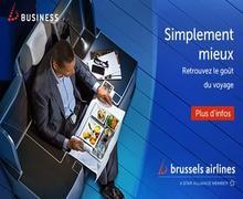 Voyagez en toutes sécurité avec Brussel Airline