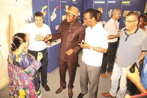 Image : Salon africain du bâtiment: satisfaction générale
