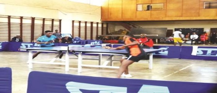 Table Tennis: Nyoh Derick Wins Singles Tournament