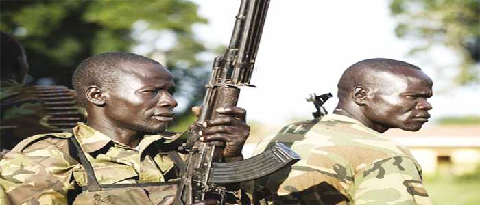 Image : Central African Republic:Seleka, Anti-Balaka Fighters Clash
