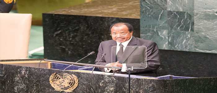 Succeeding In SDGs: Paul Biya Calls For Commitment
