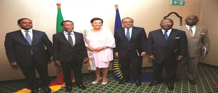 Image : Socio-Political Situation in Cameroon: Commonwealth SG Consults Political Leaders