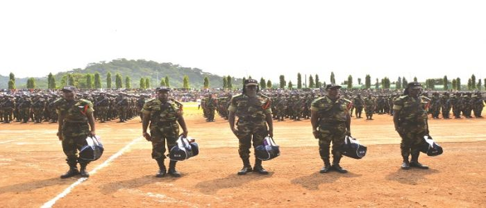 Armed Forces: BIR Commando Training Centre Graduates 1,850