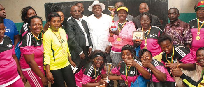 Image : Women's Day: Handball Spices Celebrations  in Yaounde