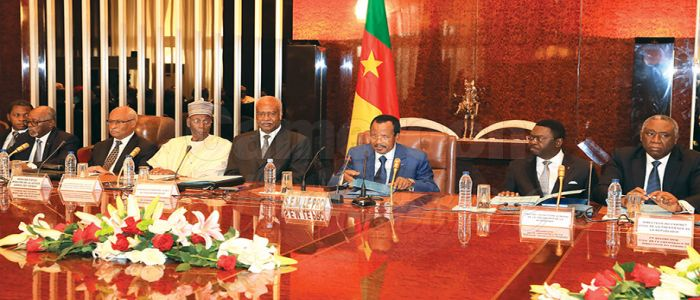 Image : Poverty Reduction, Decentralisation, Others: President Biya Wants Results