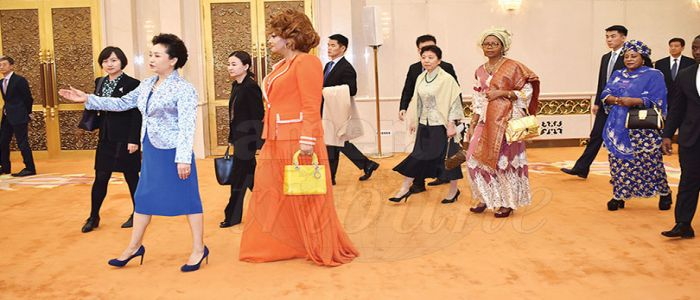 Image : Humanitarian Activities: Chantal Biya Broadens Cooperation