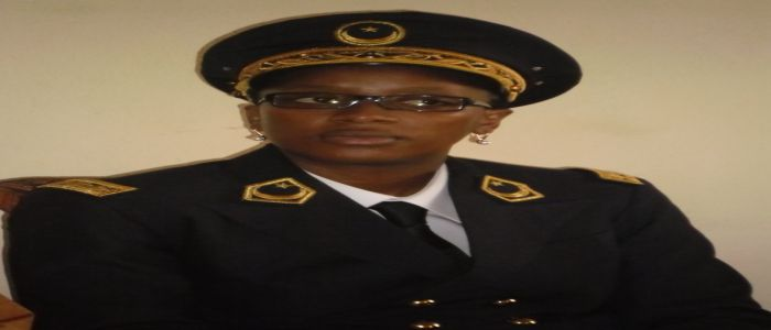 Image : Maimouna Mollé Moussa: The Android Divisional Officer