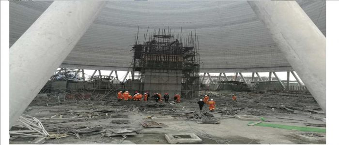 Image : China: Scaffold Accident Leaves Over 60 People Dead