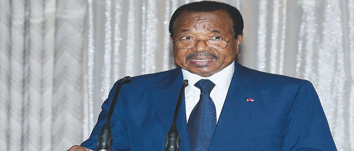 Image : Paul Biya : «Our Diversity Forms Part Of Our Identity»
