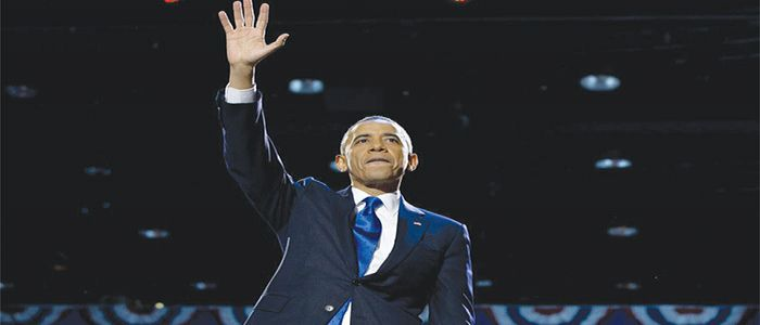 Image : USA: Barack Obama Bids Farewell