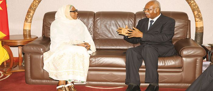 PM Yang Receives Nigerian Envoy