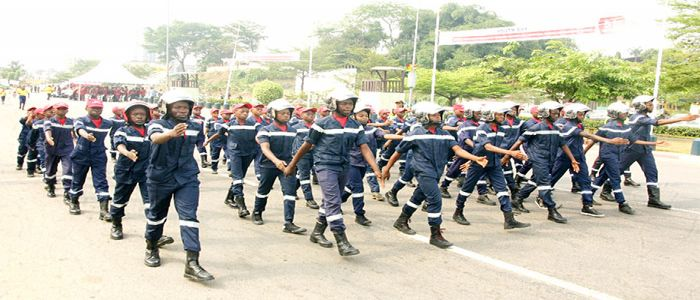 Young Firefighters Steal The Show in Douala