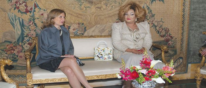 Hectic Stay Of Chantal Biya