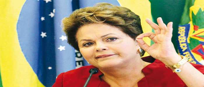 Image : Brazil's Dilma Rousseff Dismissed