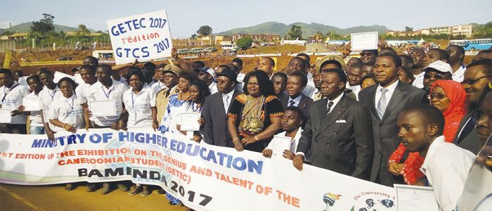 President Biya Rewards Talents