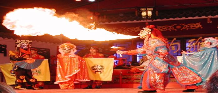 Chinese Opera: An Enthralling Date With Fire-spitting Performers