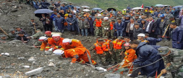 China Landslide: Hope Fades For Victims Still Trapped Under Rubble