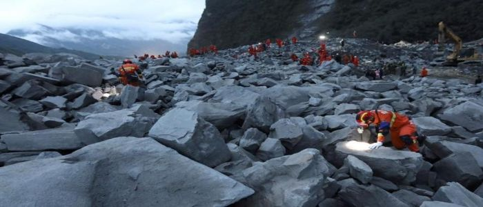 China Landslide: Race Against Time To Save 93 Trapped Victims