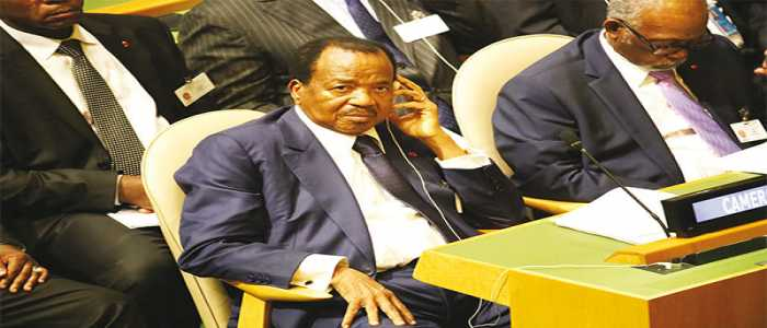 Image : President Paul Biya Attends Opening Session