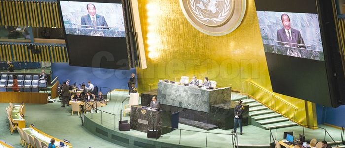 Image : Global Challenges, Prospects: Paul Biya Addresses UN Assembly Tomorrow