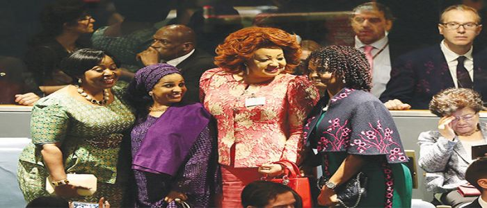 Successful Week For Chantal Biya