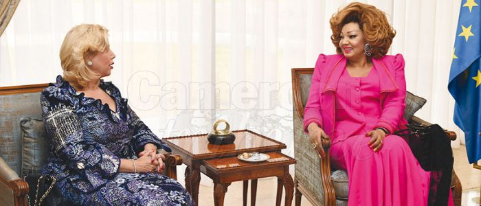 Image : Chantal Biya Unites With Other First Ladies