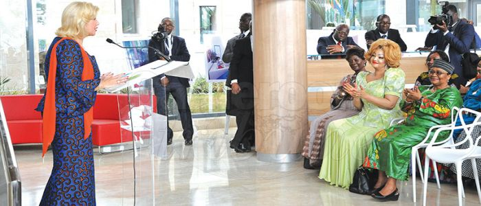 Chantal Biya Visits Mother-Child Hospital