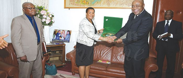 Image : Cameroon-African Union Sports Council : Host Agreement To Be Signed Soon