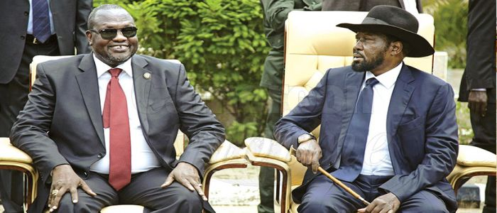 Image : South Sudan: President Kiir Pardons Rebel Leader Riek Machar