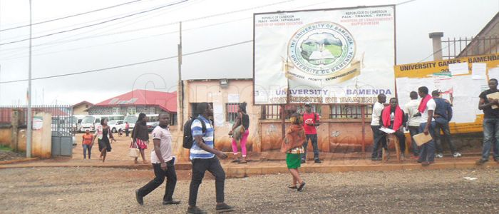 Image : University of Bamenda: Community of Students, Lecturers Living Together