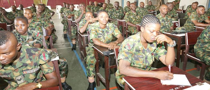 Encouraging Presence Of Female Officers