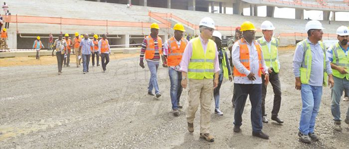 2019 AFCON : 50% Execution for Japoma Stadium