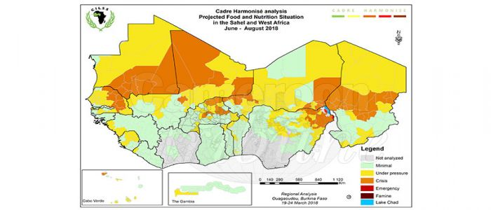 Image : West Africa, Sahel Zone: Agriculture Ministers Discuss Food, Nutrition Crises