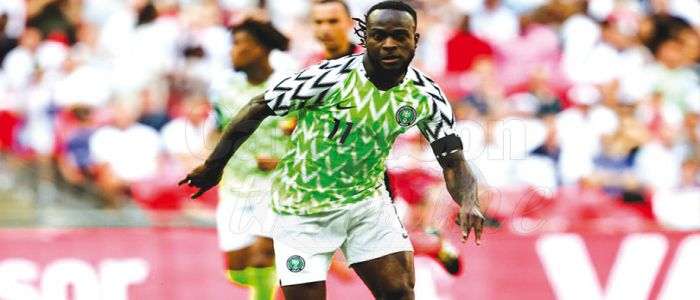 Image : Victor Moses: Super Eagles Star Man