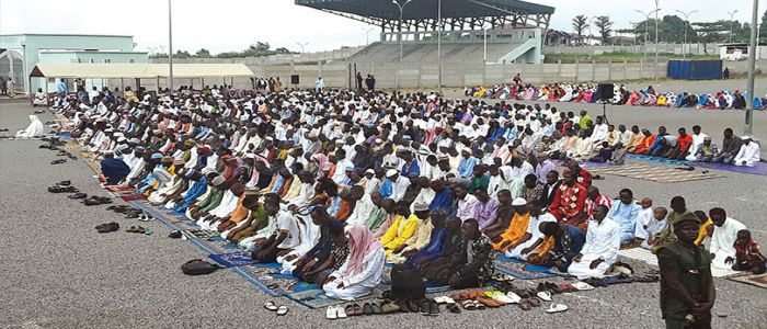 Image : South West: Moslems Pray For Dev't In Cameroon