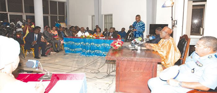 Image : Situation in North West, South West: Head of State Instructs National Solidarity Plan
