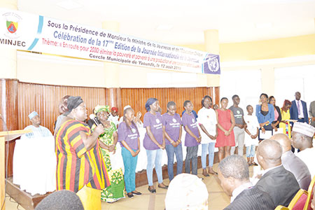 International Youth Day: Gov't Honours Creative Young People