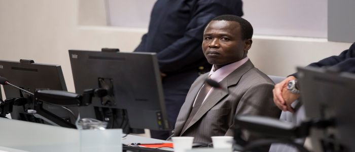 Image : ICC: Dominic Ongwen War Crime Trial Resumes