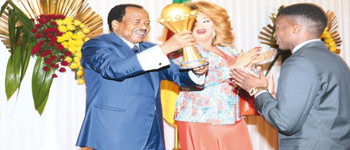 Image : Presidential Accolades For Indomitable Lions