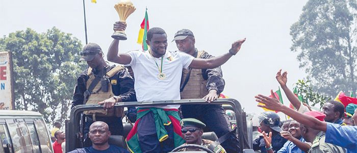 AFCON Champions: Euphoria Welcomes Trophy In Bamenda