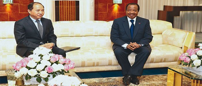 Image : President Paul Biya Invited To China