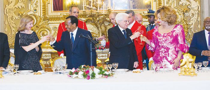 "Image : Paul Biya : ""We Have Identified Sectors Where Italian Companies Could Invest"""